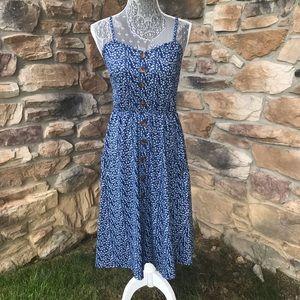 Dresses & Skirts - Floral Button Front Dress